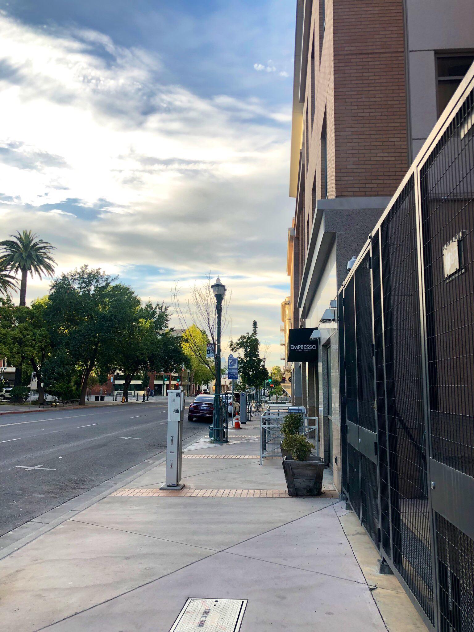 View of Downtown stockton
