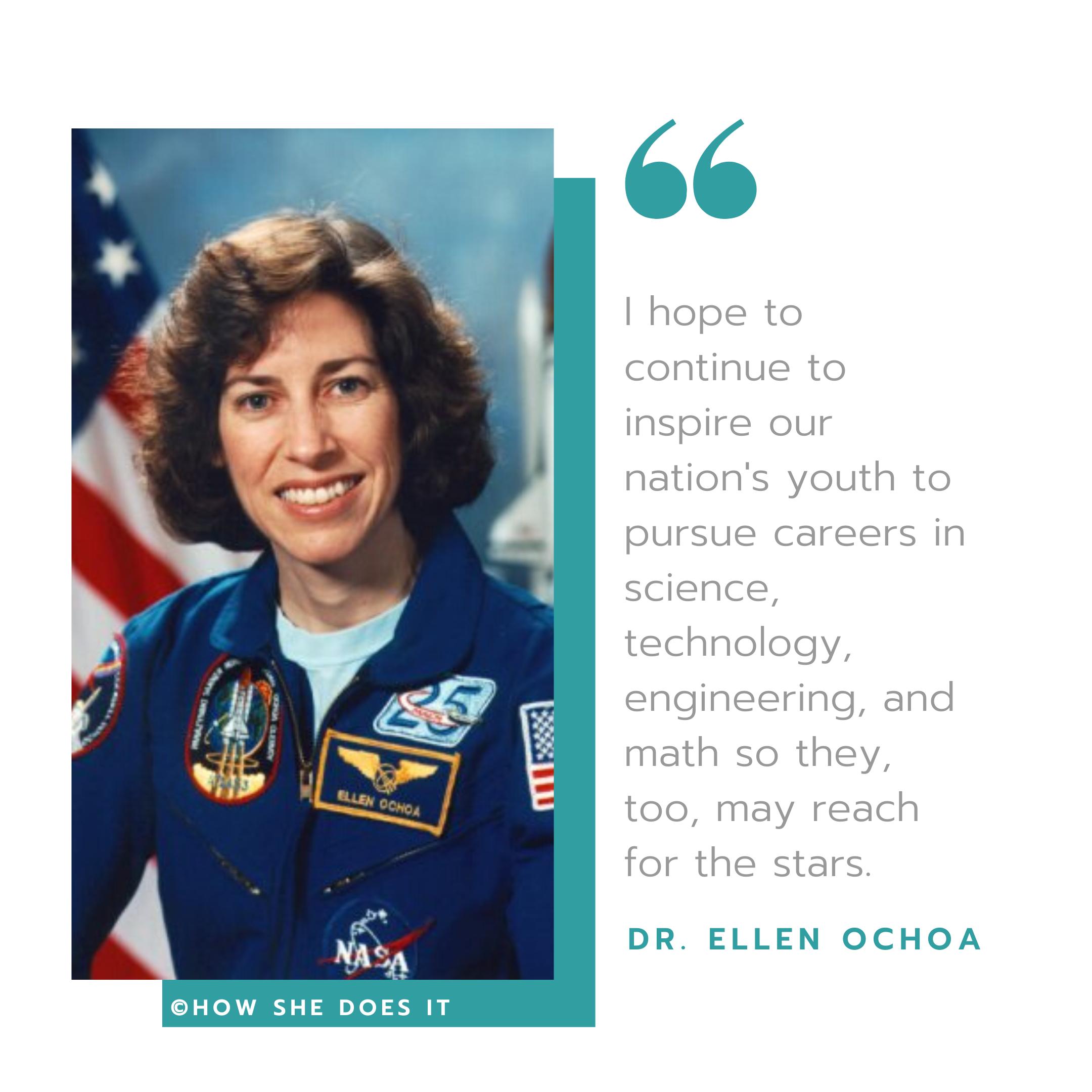 Dr Ellen Ochoa