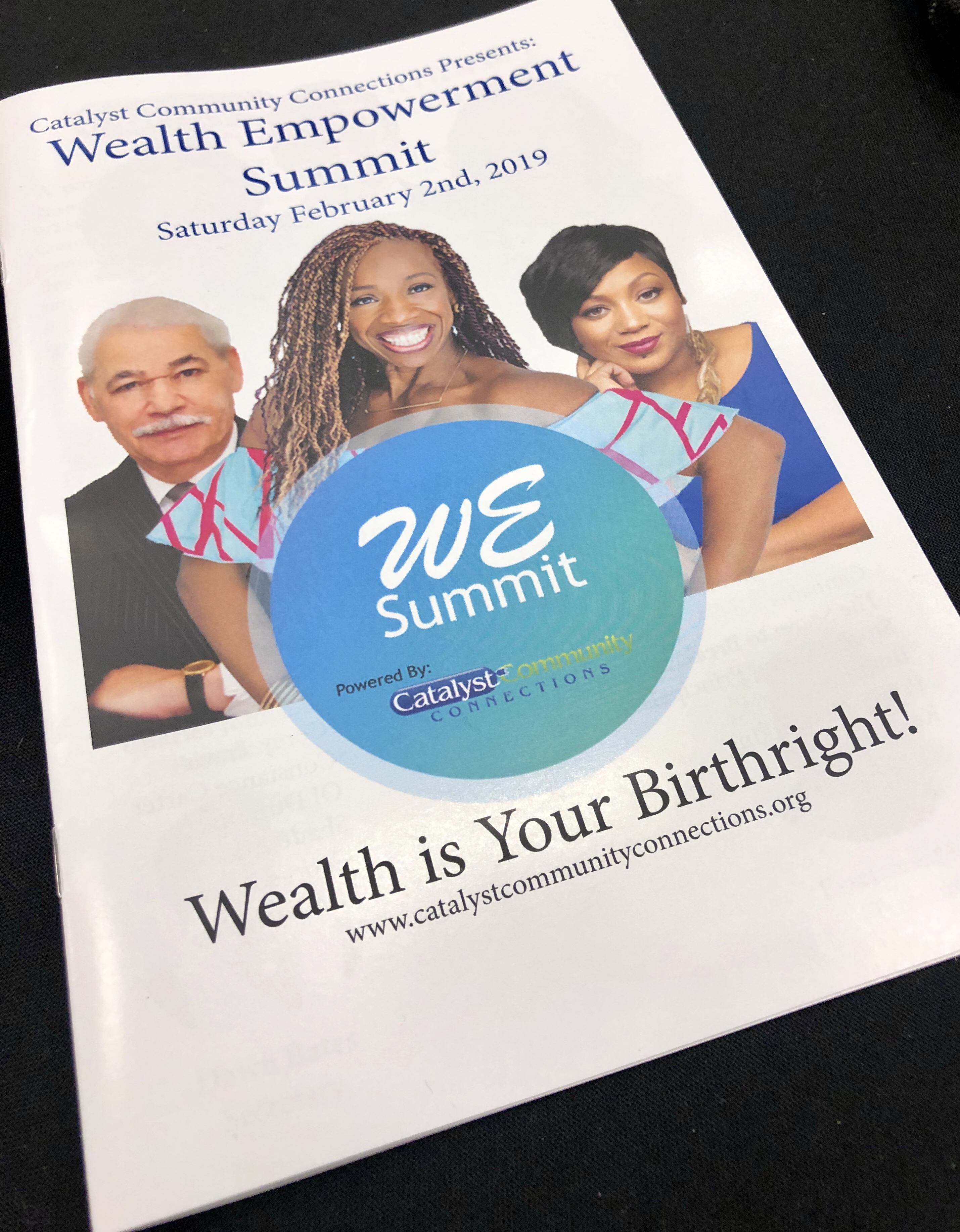 Pamphlet of the WE Summit